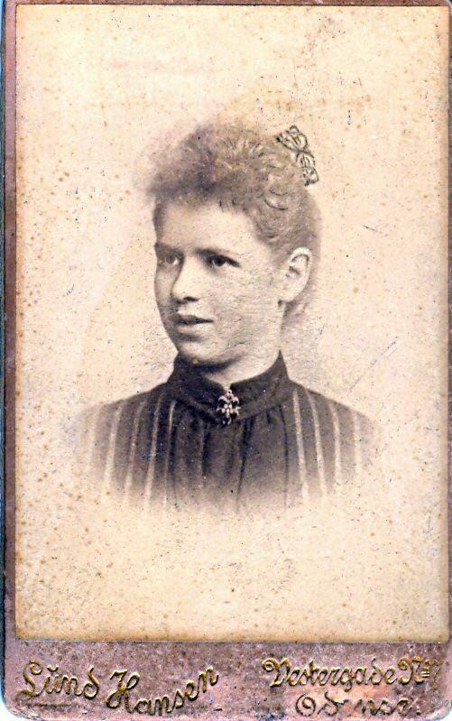 20.60 til Ellen fra Alvilda juleaften 1889