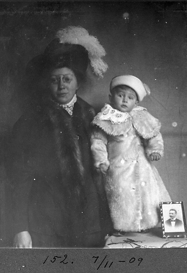 30.152 Erna og Axel Schmuhl 7. november 1909