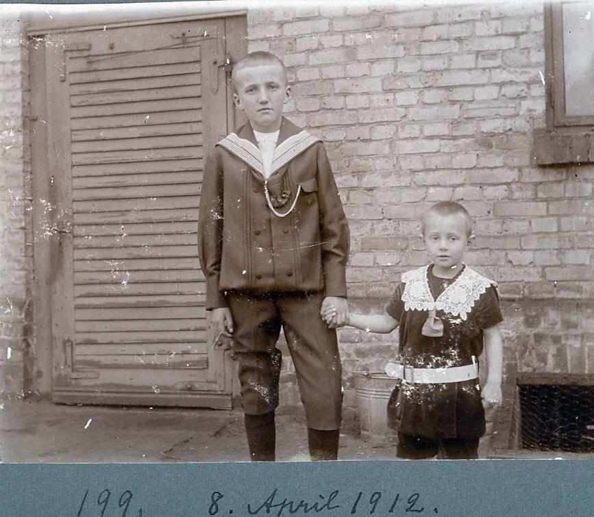 30.199 På familiebesøg i Tyskland april 1912