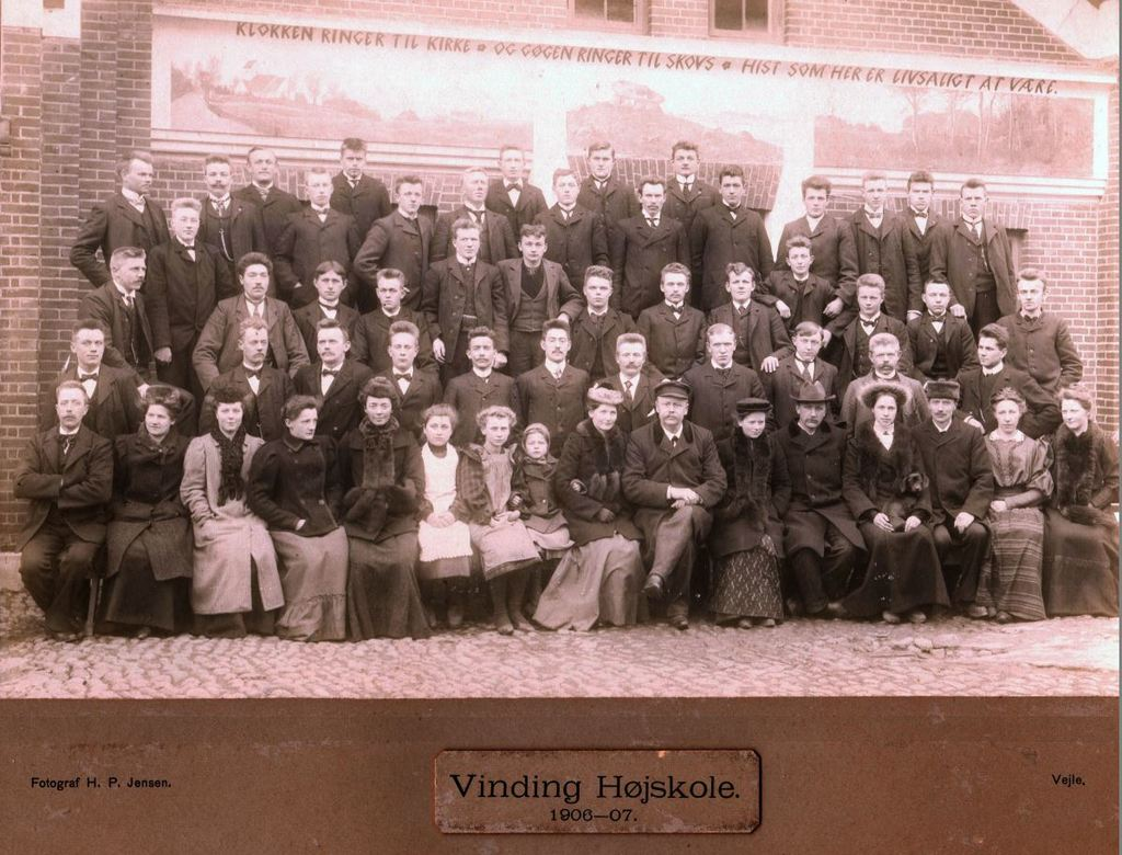 11968.6 Vinding Højskole årgang 1906-07