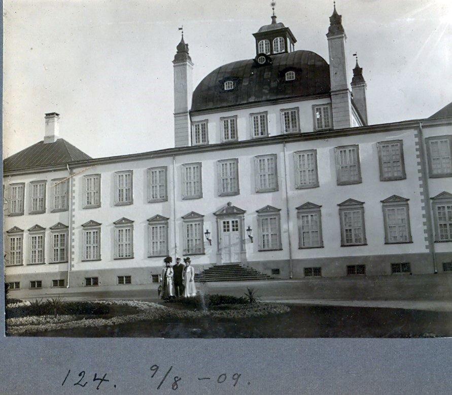 30.124 Fredensborg Slot 9. august 1909