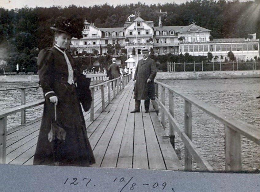 30.127 Skodsborg badehotel 10.8 1909. K-O 18.5.2020