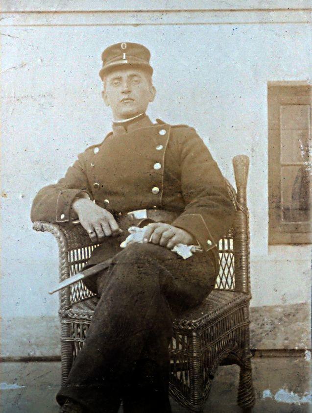 Formodentlig Christian Ebert, som 22-årig i 1907