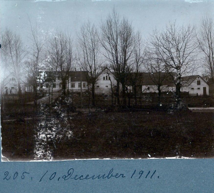 30.205 Flinterupgård,Kirke Flinterup. december 1911.