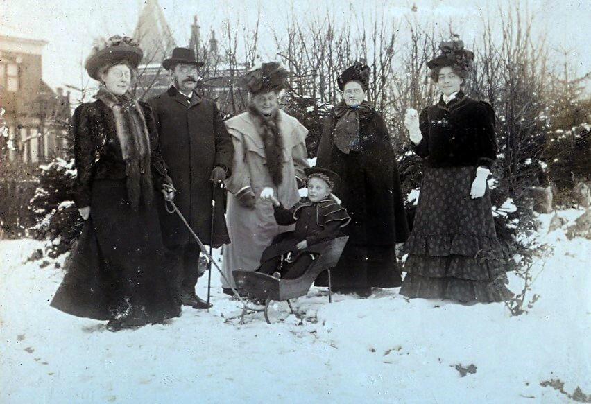 Familien Ebert december 1907