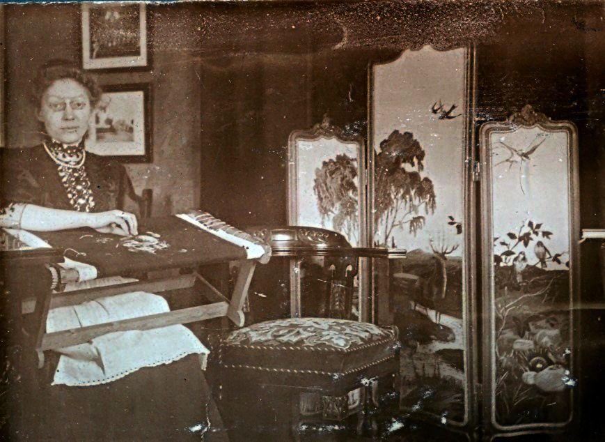 Erna Schmuhl januar 1908