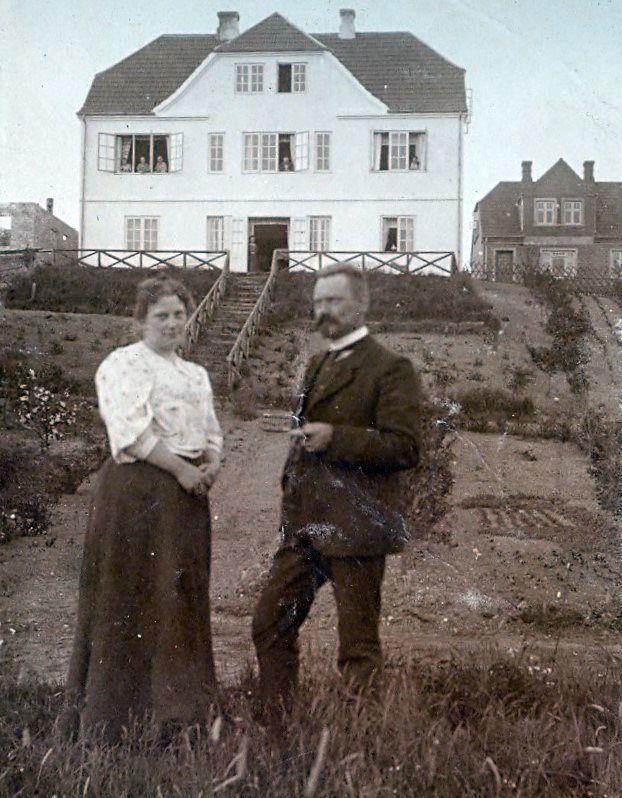 Ryhave, Ry, Jyllandsturen juni 1908