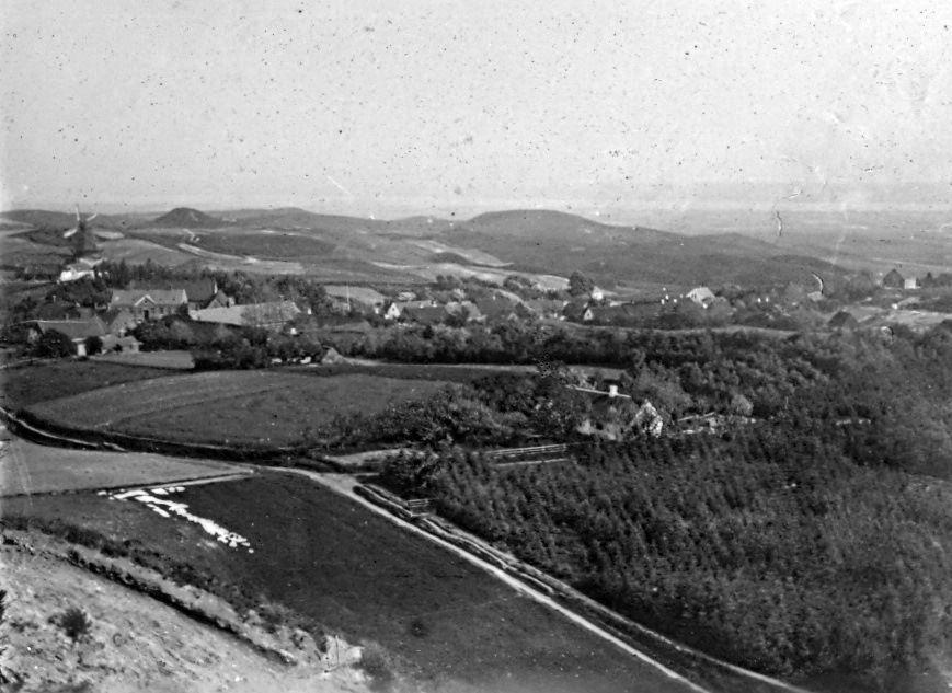 30.70 Udsigt fra Skovsbjærg jyllandsturen 1908