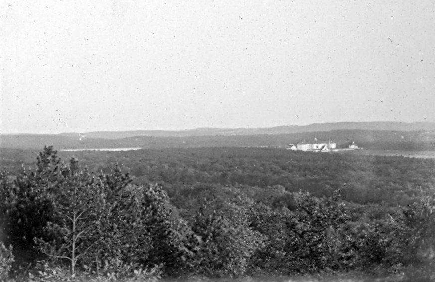 30.74 Udsigt fra Dronningestol ved Silkeborg- Jyllandsturen juni 1908