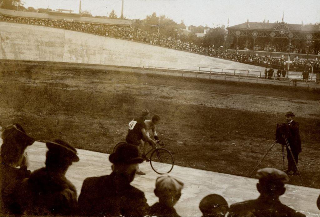 30.9 Cykelbanen i Ordrup år 1907. K-O 10.5.2020 2920 Charlottenlund