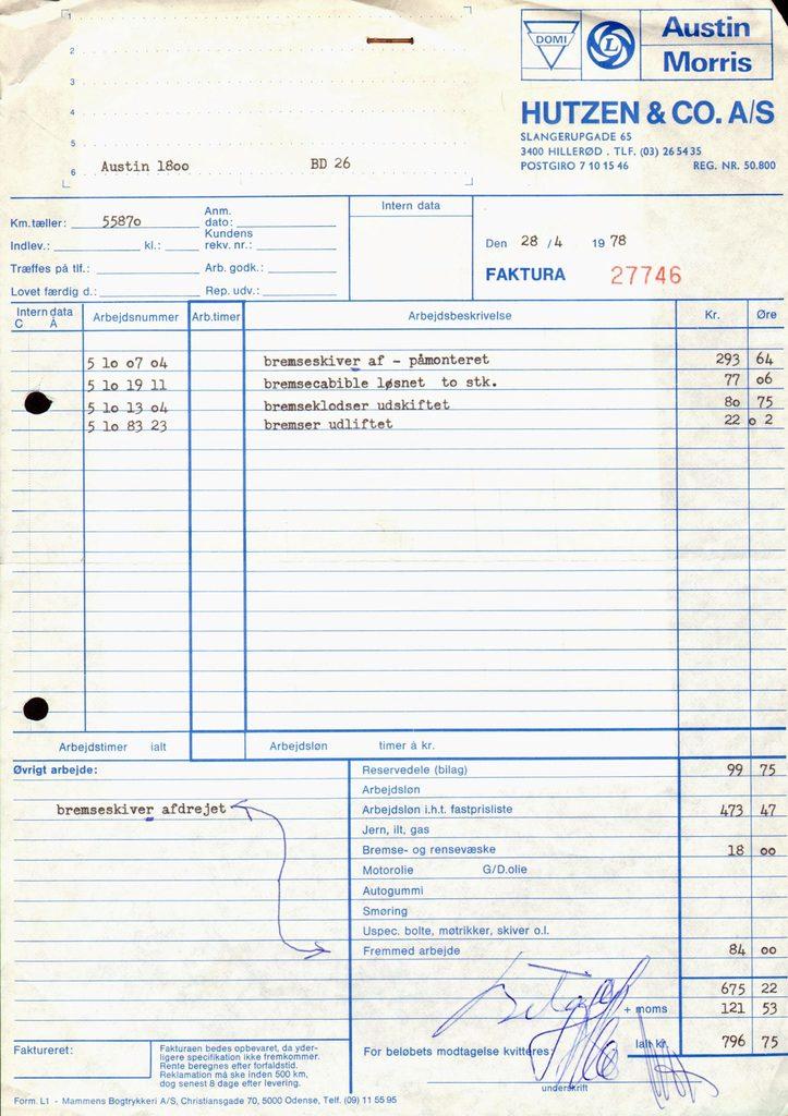 12069.7 Hutzen & Co.,Hillerød
