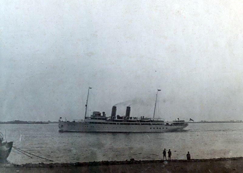 30.228 Tysklandsbåden fotograferet år 1914