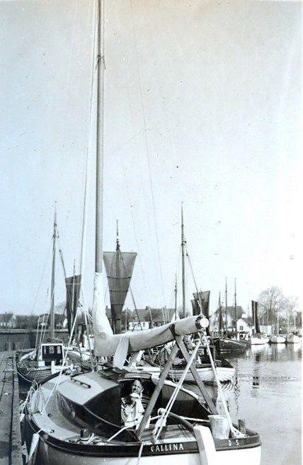 30.525 Hjemturen med Callina i påsken 1938