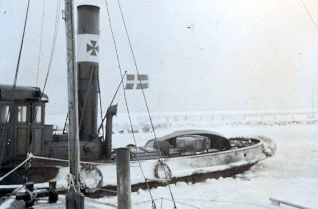 30.606 Isvinteren 1939-40, Dragør havn, 2791