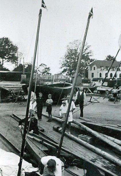 30.621 Vedbæk havn 1942