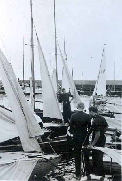 30.624 Vedbæk havn 1942