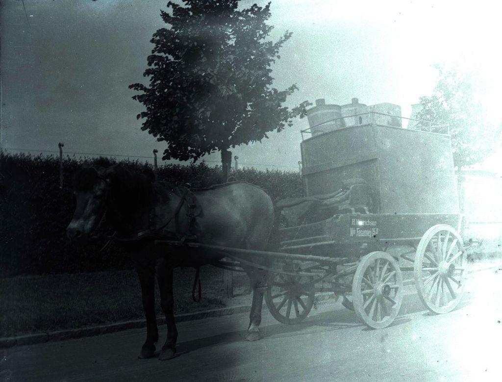 22.32 Bispebjerg 1919- Vognmand H, Hinrichsen. Ndr. Fasanvej 15 B
