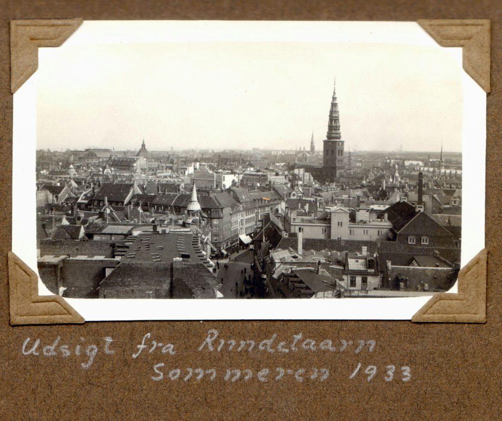70.11 Udsigt fra Rundetårn sommeren 1933