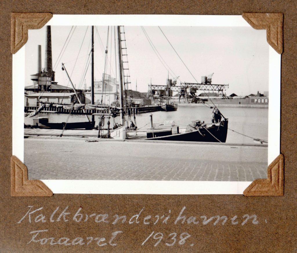 70.124 Kalkbrænderihavnen, foråret 1938. K-O 31.5.2017