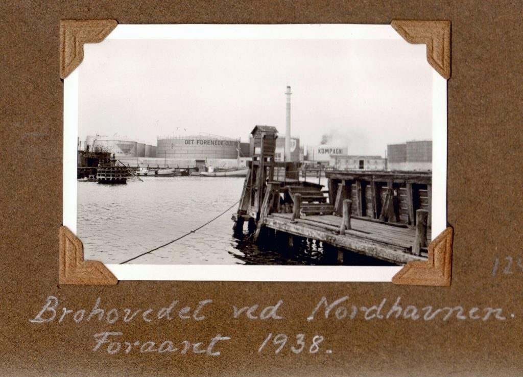 70.125 Brohovedet ved Nordhavnen, foråret 1938