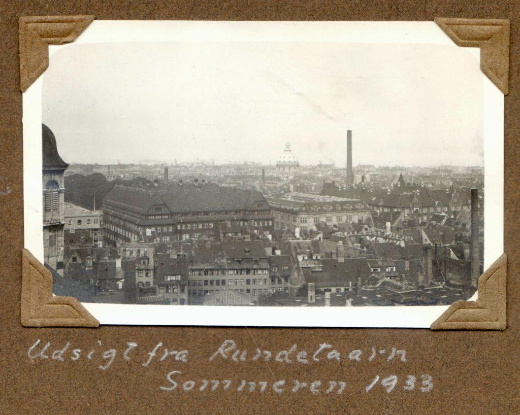 70.13 Udsigt fra Rundetårn sommeren 1933