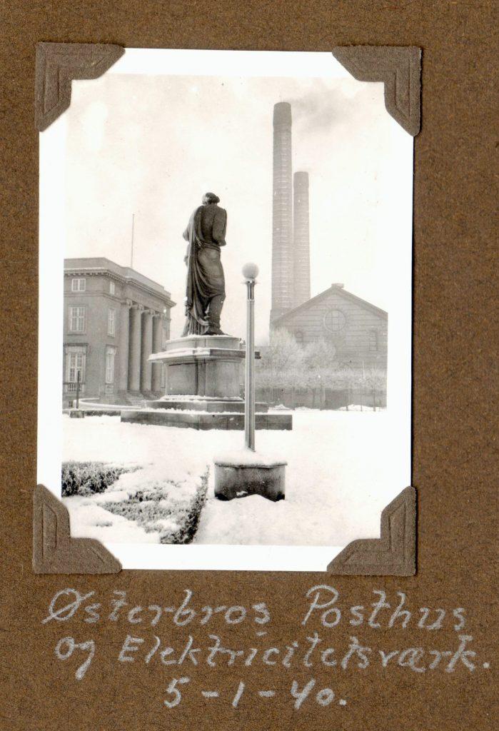 70.152 Østerbros posthus og elværk 1940
