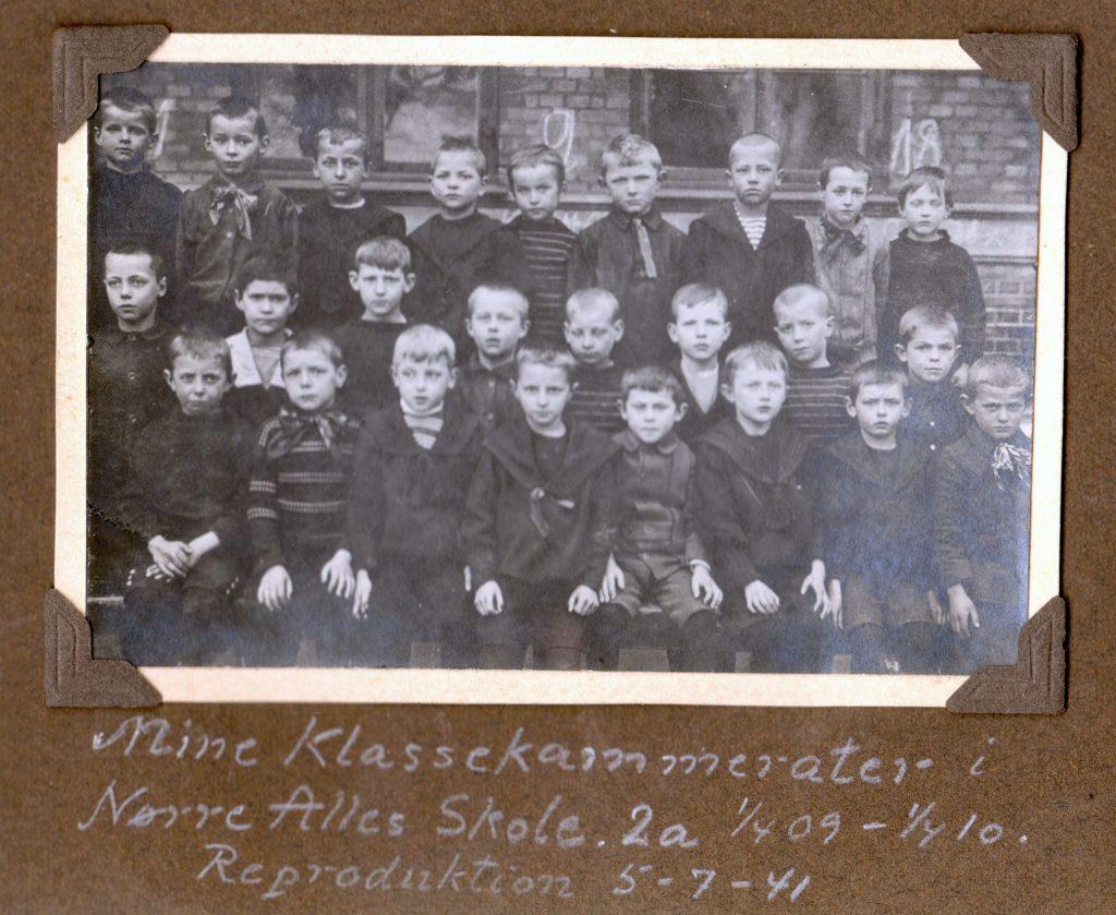 70.164 skolebillede Nørre Alle skole 1909-10