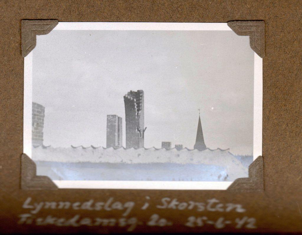 70.168 Lynnedslag Fiskedamsgade 20 juni 1942