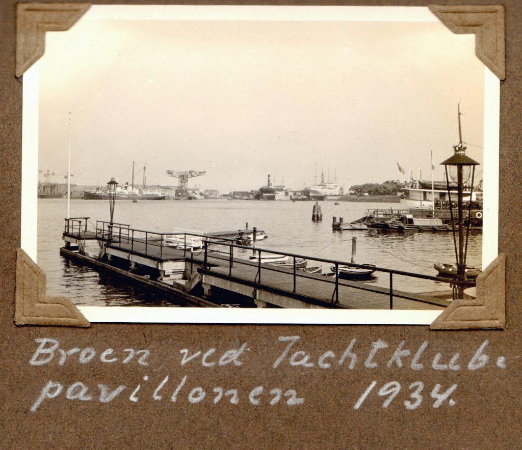 70.21 Broen ved Yachtklubpavillonen 1934