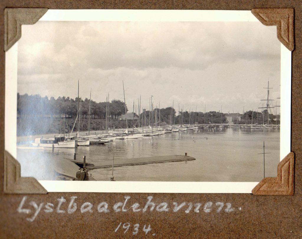 70.24 Lystbådehavnen 1934
