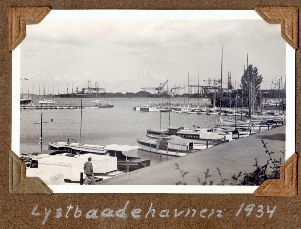 70.25 Lystbådehavnen 1934