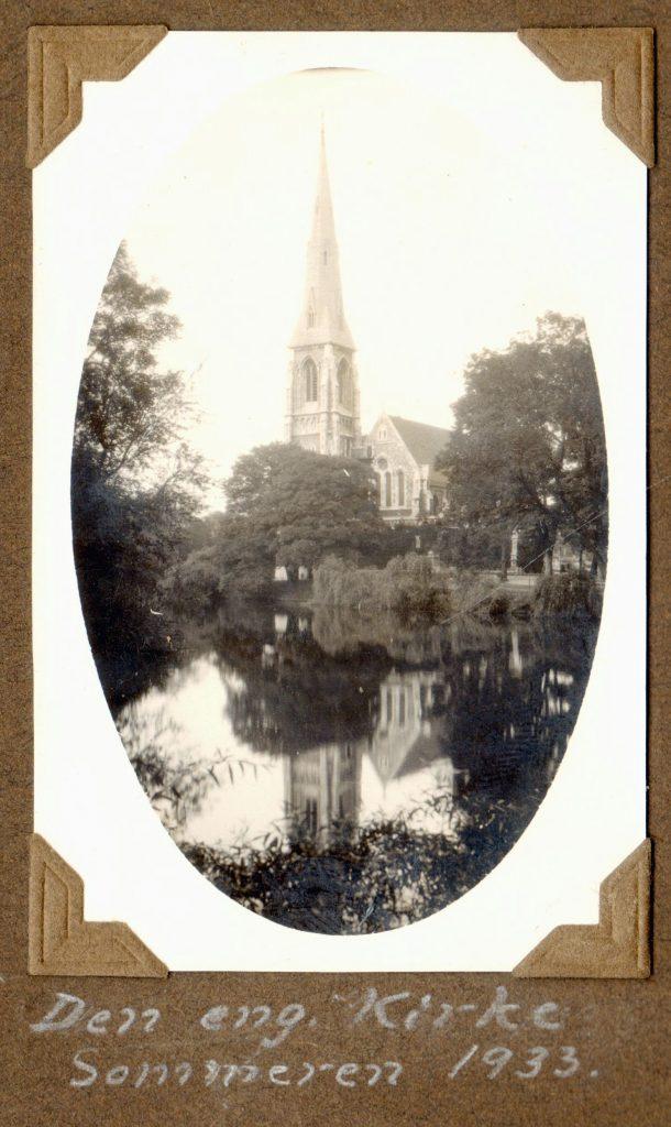 70.3 Den Engelske kirke, Toldboden. 1933