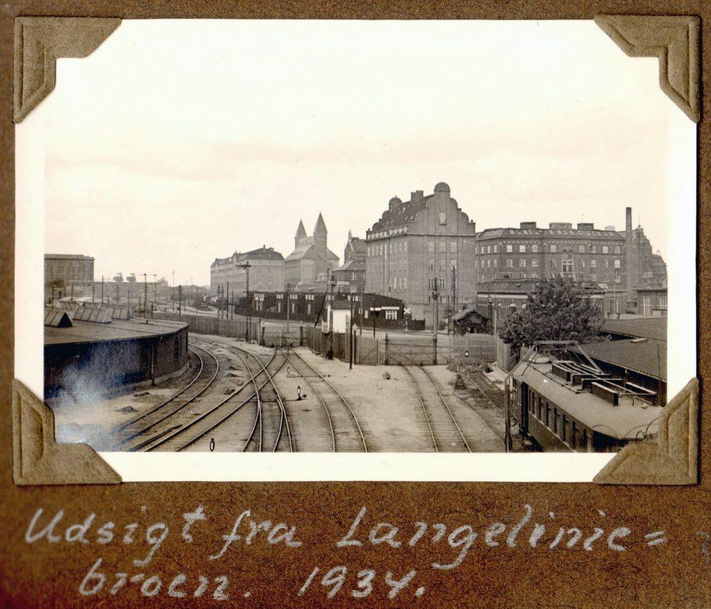 70.34 Udsigt fra Langeliniebroen 1934