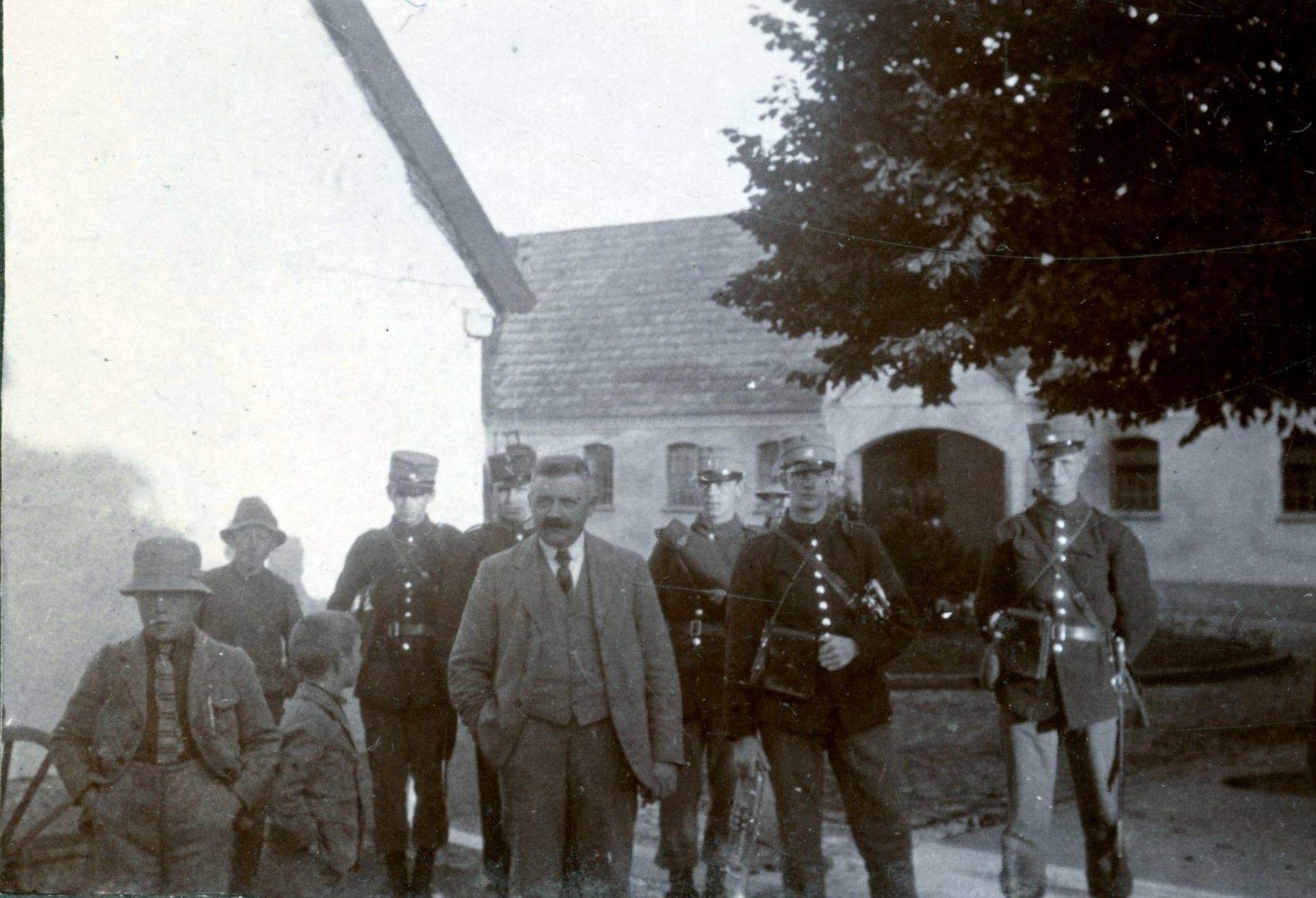 70.277 Kantonnementet 1923
