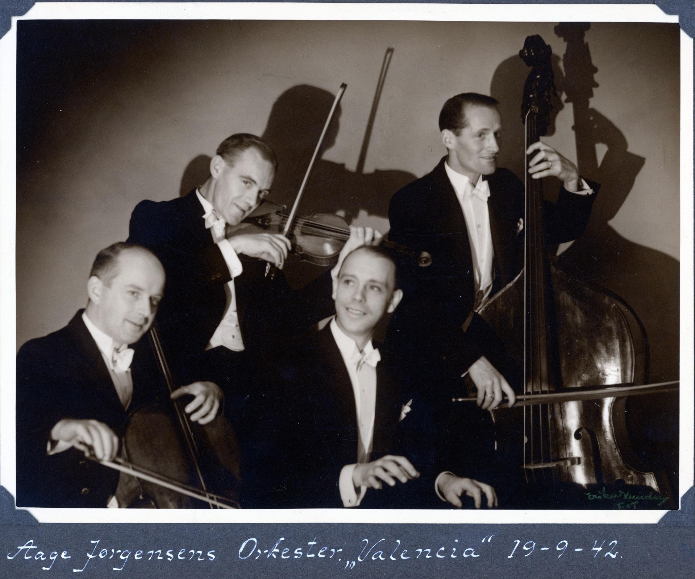 70.301 Aage Jørgensens orkester i Valencia 19.9.1942