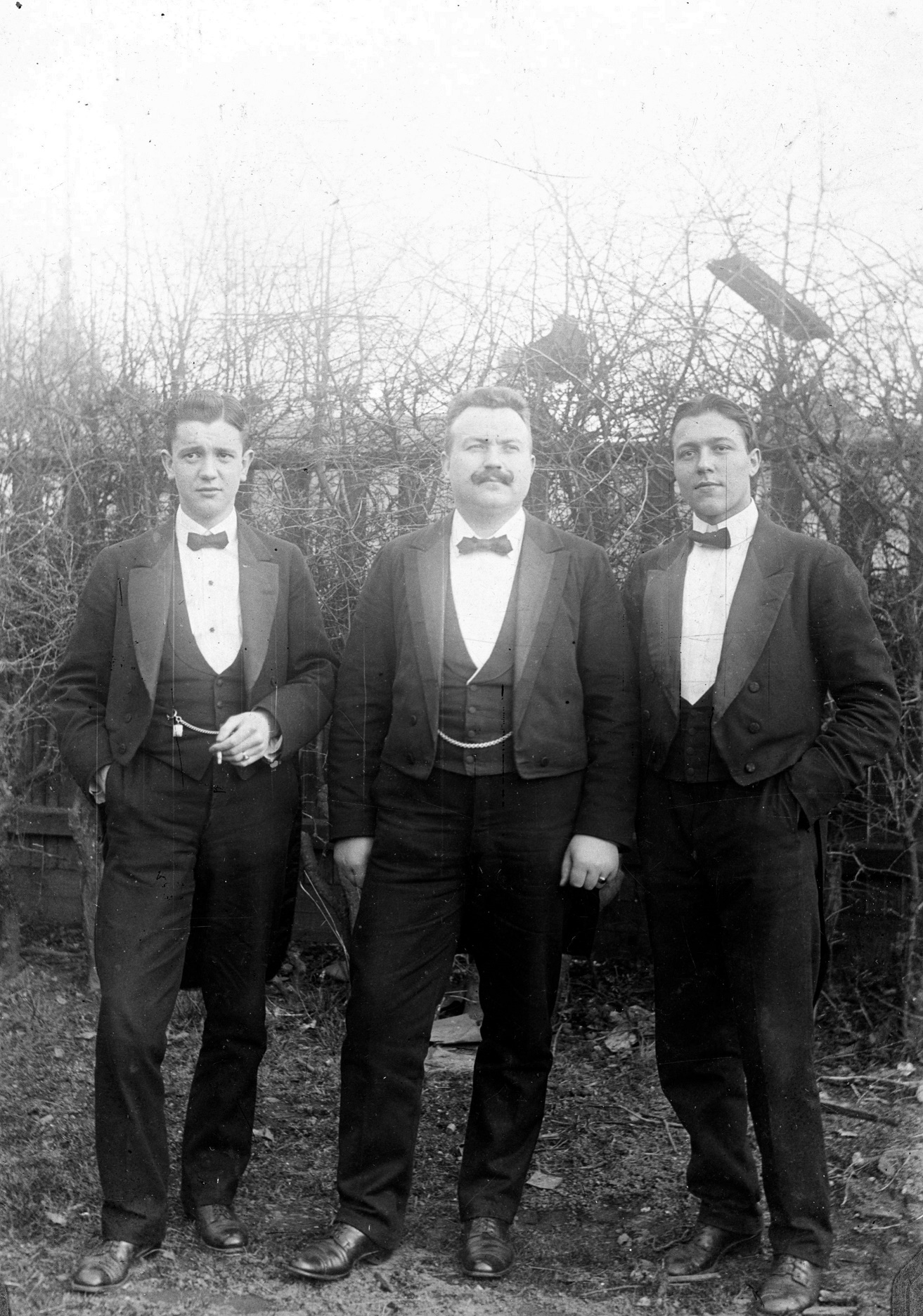 70.304 Harald Mortensens orkester St. Vibenshus ca. 1909
