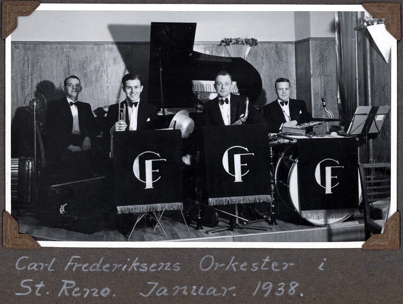 70.403 Carl Frederiksens orkester i St. Reno